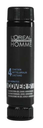 Homme Cover 5' NO4 mellembrun - 50 ml.