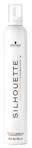 Silhouette mousse flexible hold - 500 ml