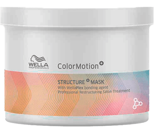 Wella Professional Care Color Motion+ Structure+ Maske - 500 ml