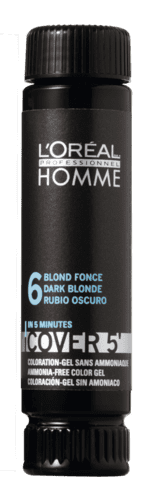 Homme Cover 5' NO6 mørkeblond - 50 ml.